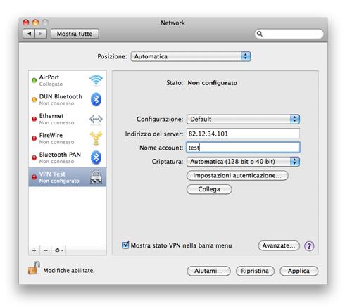 how to turn on vpn on mac