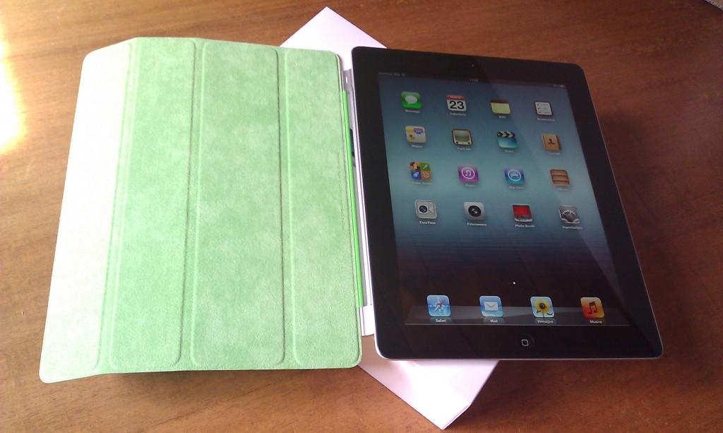 """iPad3 acceso, fantastica custodia """"acid green"""""""