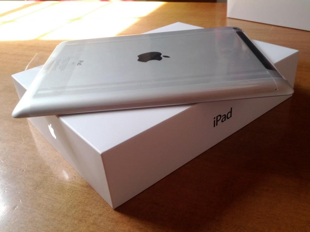 iPad3, prima immagine fuori dalla scatola