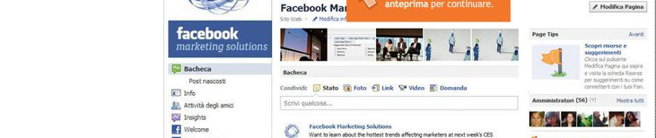 Nuove funzioni e nuovo layout per le pagine di Facebook