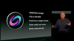 Presentazione Apple Fusion Drive