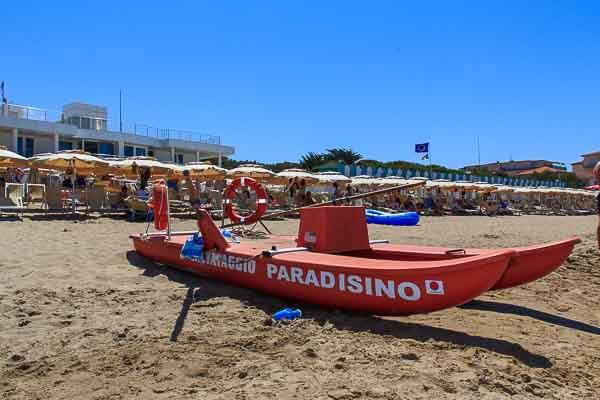 Paradisino | San Vincenzo | Spiaggia attrezzata