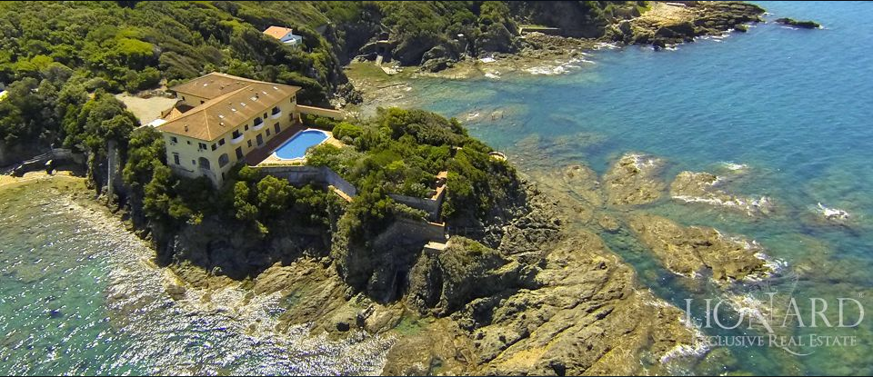 Villa Godilonda sul mare a Castiglioncello