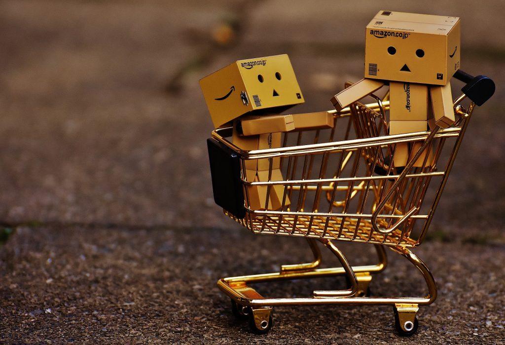carrello abbandonato in uno shop online