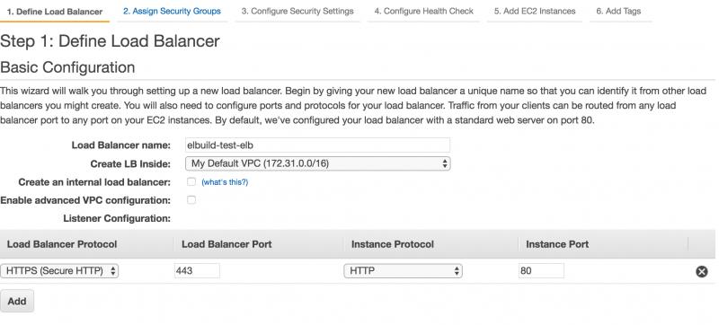 Creazione load balancer AWS | Configurazione listeners