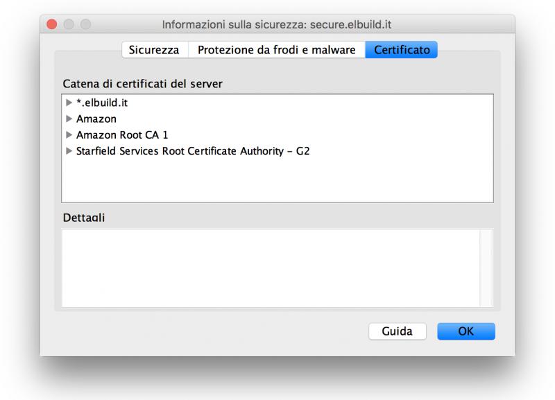 Certificato SSL Gratuito ed host sicuro