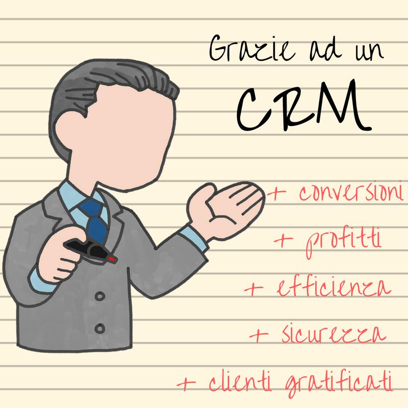 Effetti e vantaggi uso di software CRM