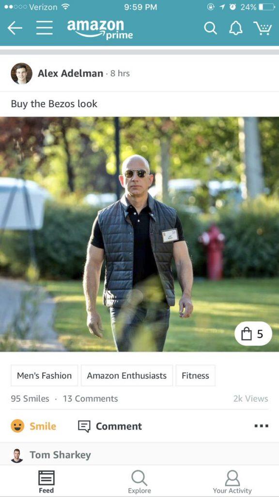 Amazon Spark Bezos