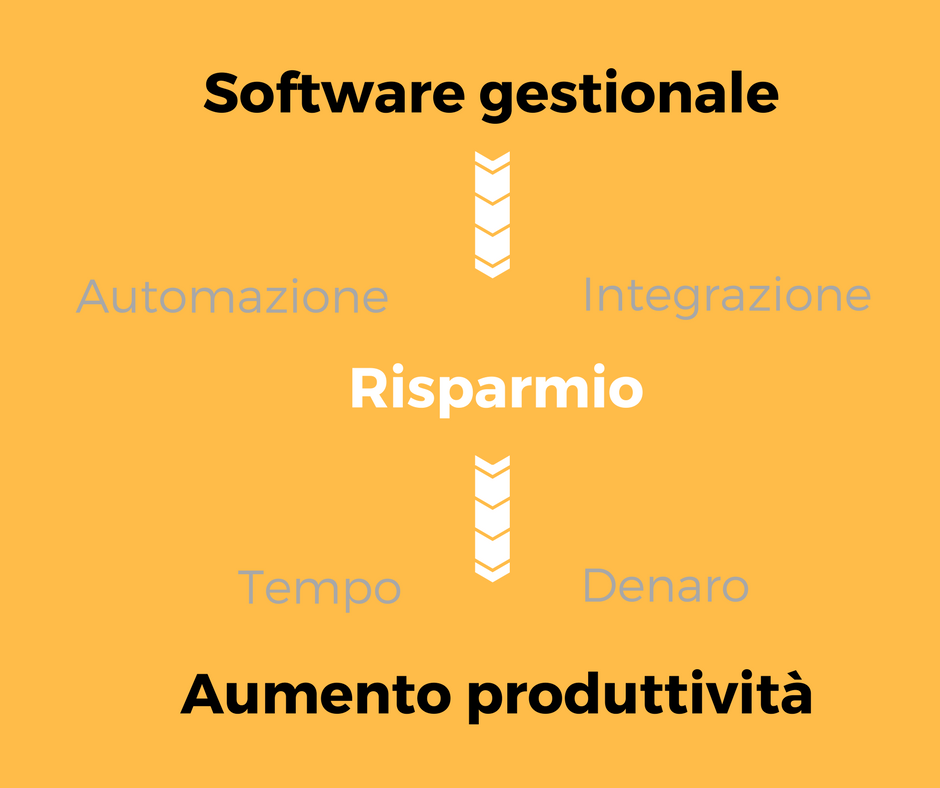 vantaggi software gestionali