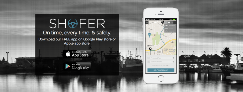 app shofer ride sharing australia